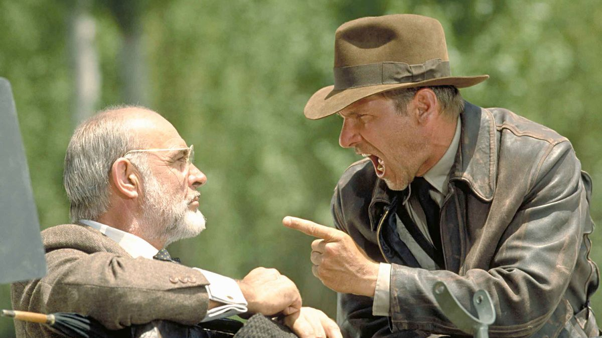 """Sean Connery und Harrison Ford in """"Indiana Jones And The Last Crusade"""""""
