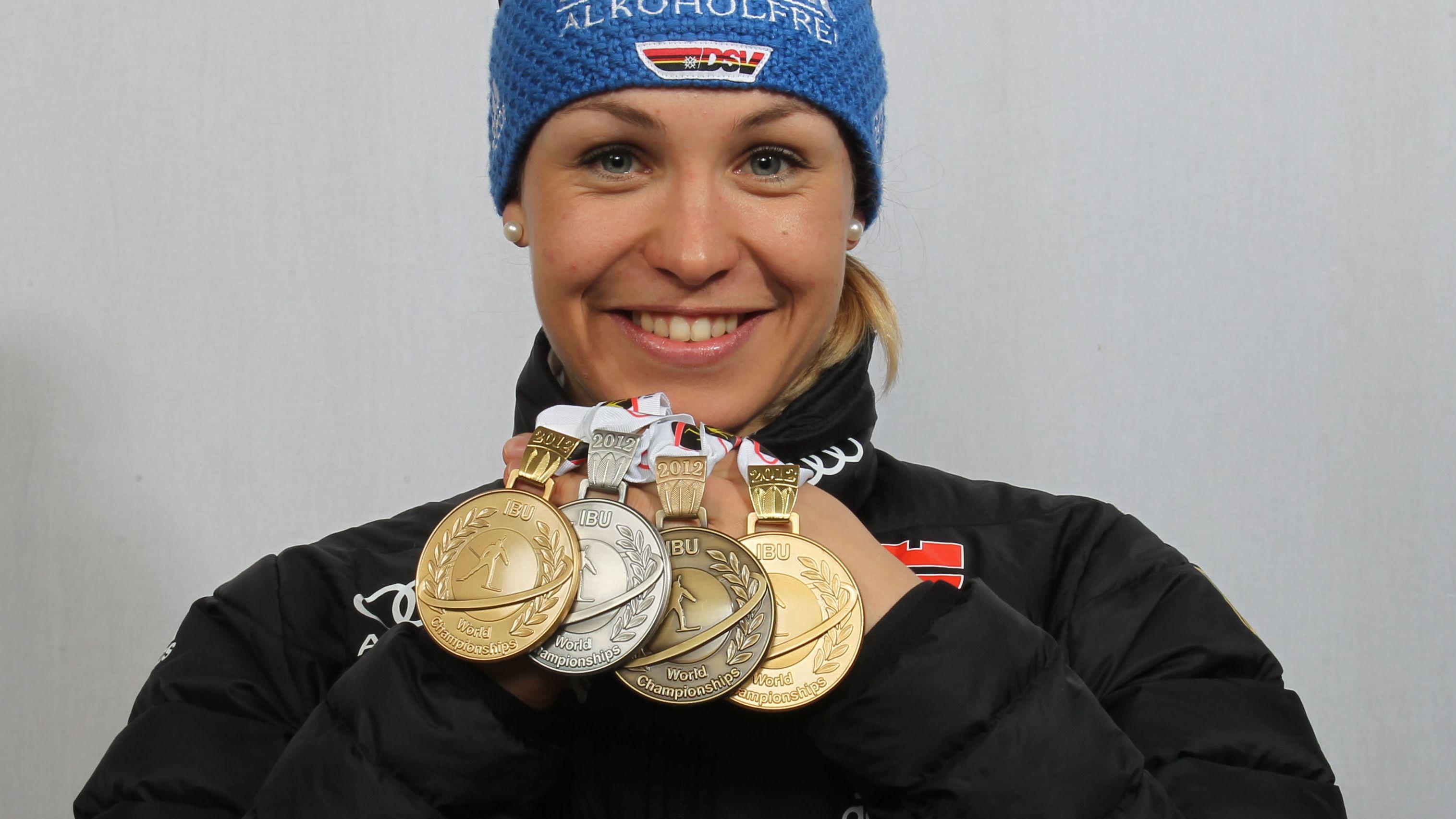Biathlon-WM 2012: Magdalena Neuner