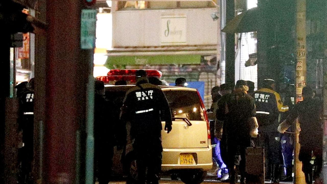 Angriff mit Auto in Tokio