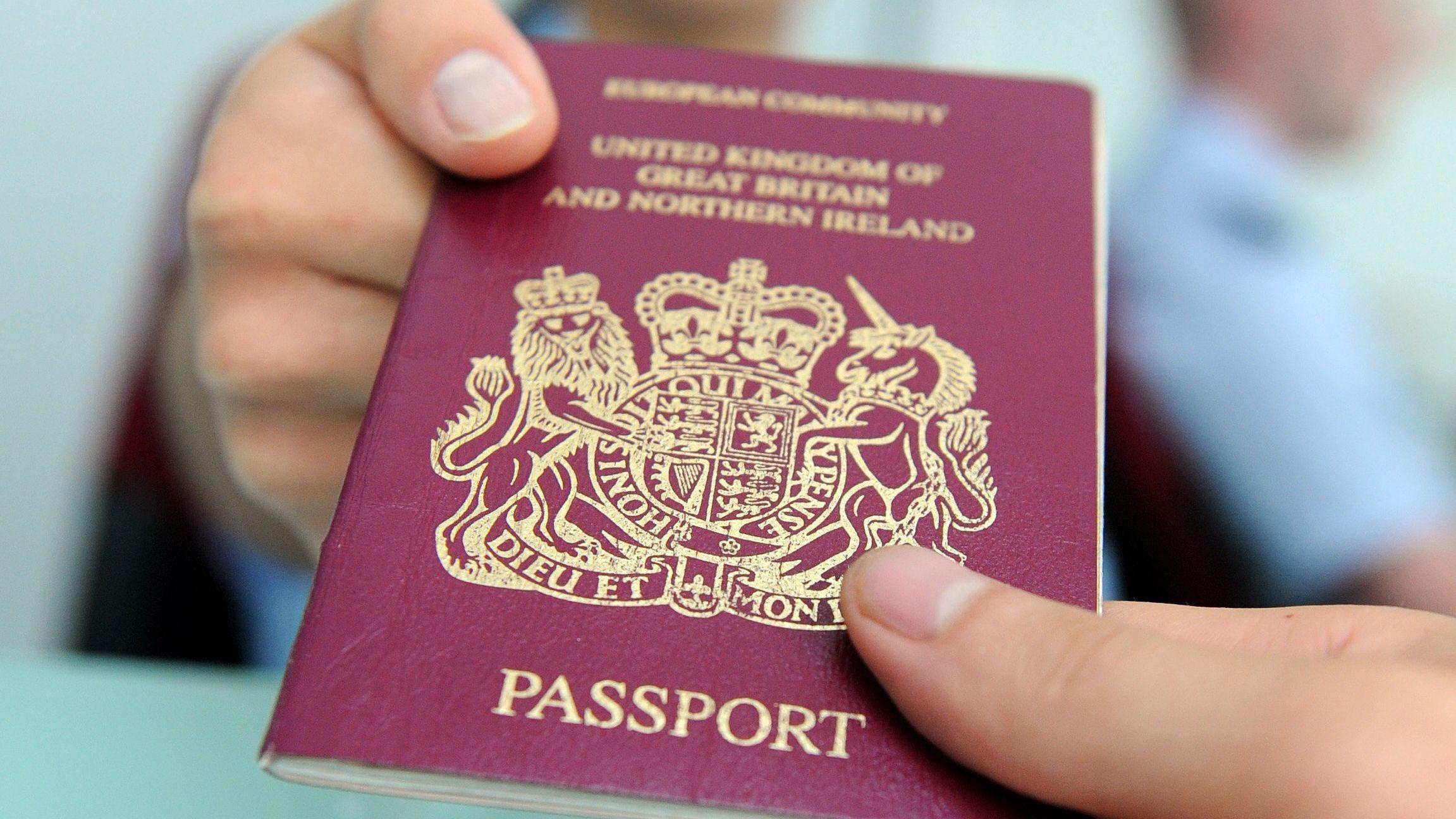 Britisches Pass
