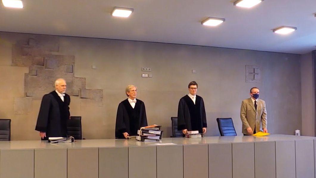 Richter ohne Masken