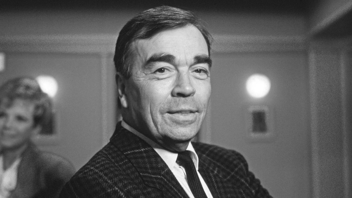 Claus Biederstaedt (Foto aus dem Jahr 1988).