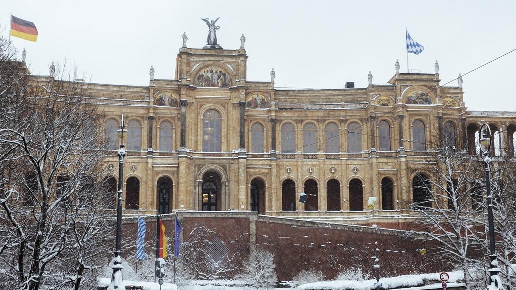 Der Bayerische Landtag - das Gebäude von außen