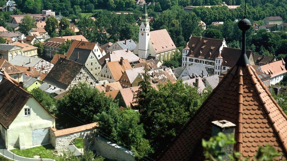 Ansicht Pappenheim