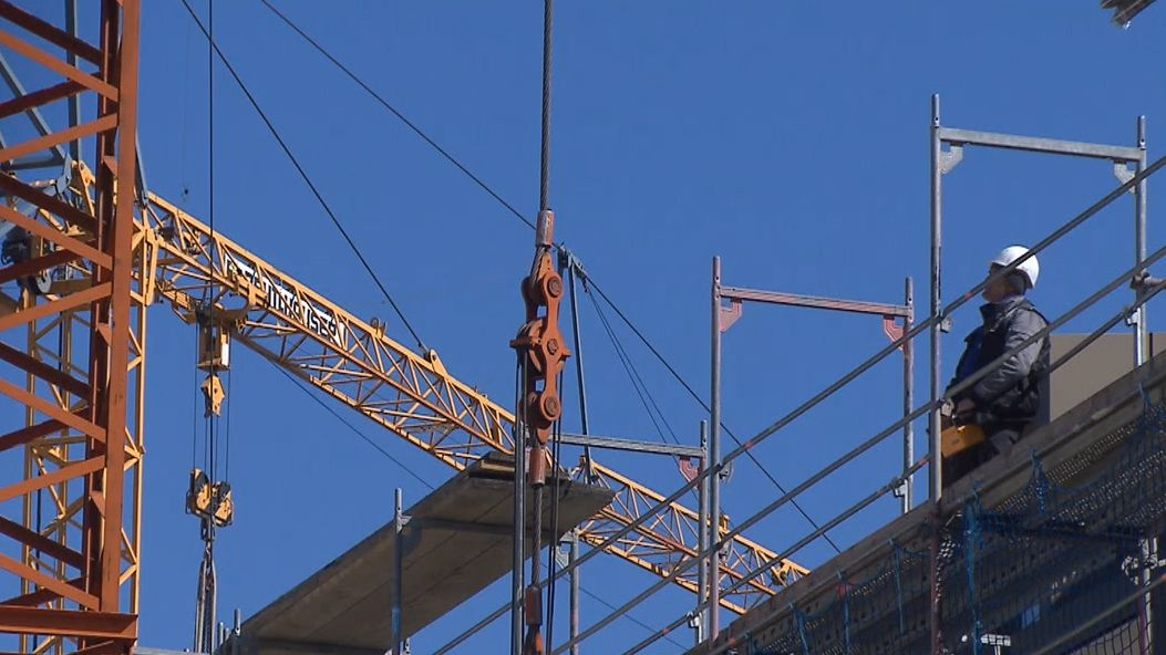 Bauarbeiter in der Corona-Krise