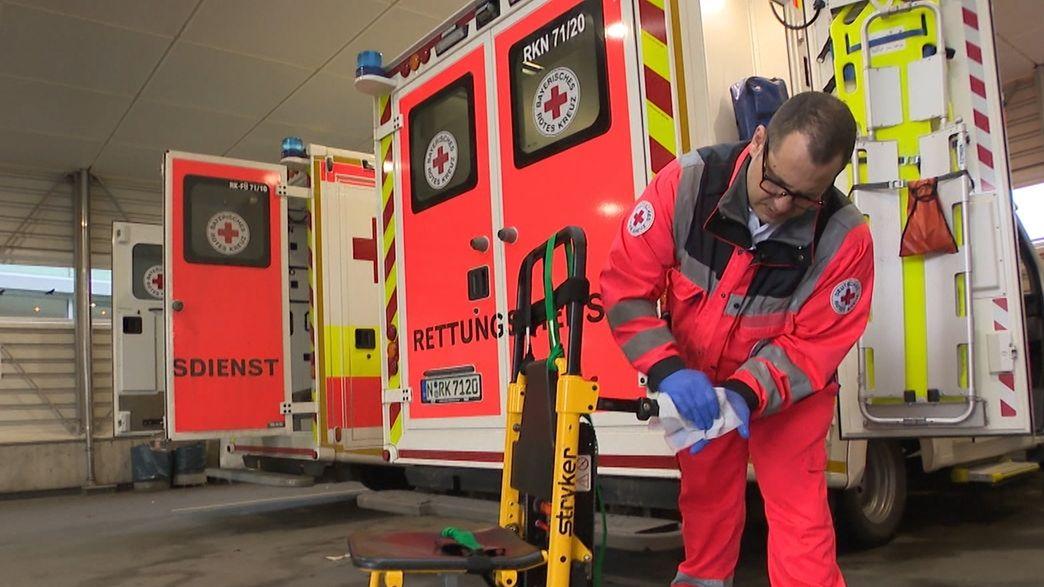 Wie schützen sich Notfallsanitäter?