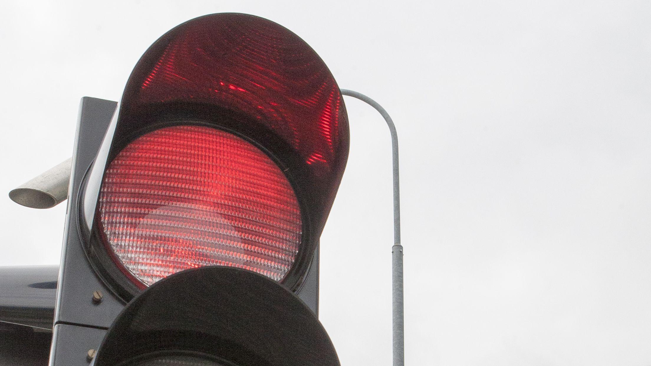 rote Ampel (Symbolbild)