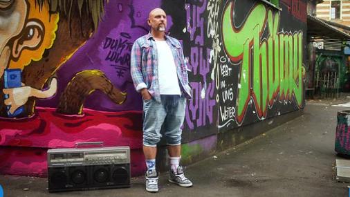 """Ausschnitt aus """"Hip Hop und die DDR"""""""