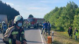Vier Tote bei Verkehrsunfall im Landkreis Landsberg | Bild:News5