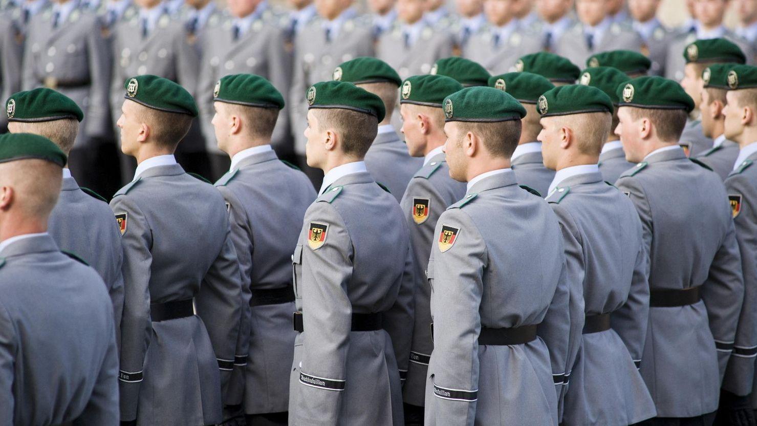 Symbolbild Gelöbnis der Bundeswehr