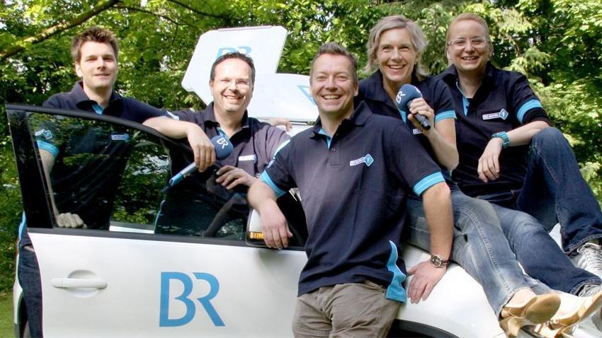 Das BR-Team für Mittel- und Oberfranken