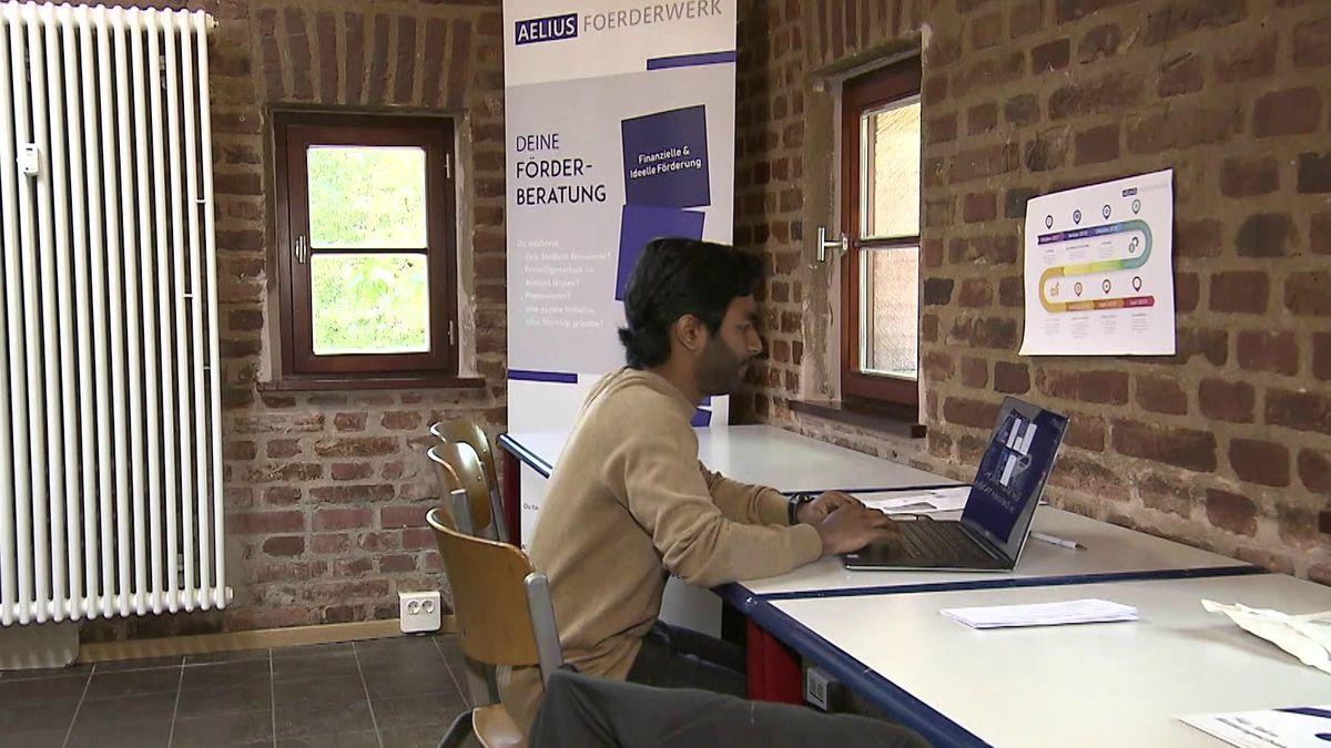 Das Aelius Förderwerk - eine Initiative des Studenten Sagithjan Surendra - gewinnt beim Bürgerpreis 2020 und bekommt 10.000 Euro.