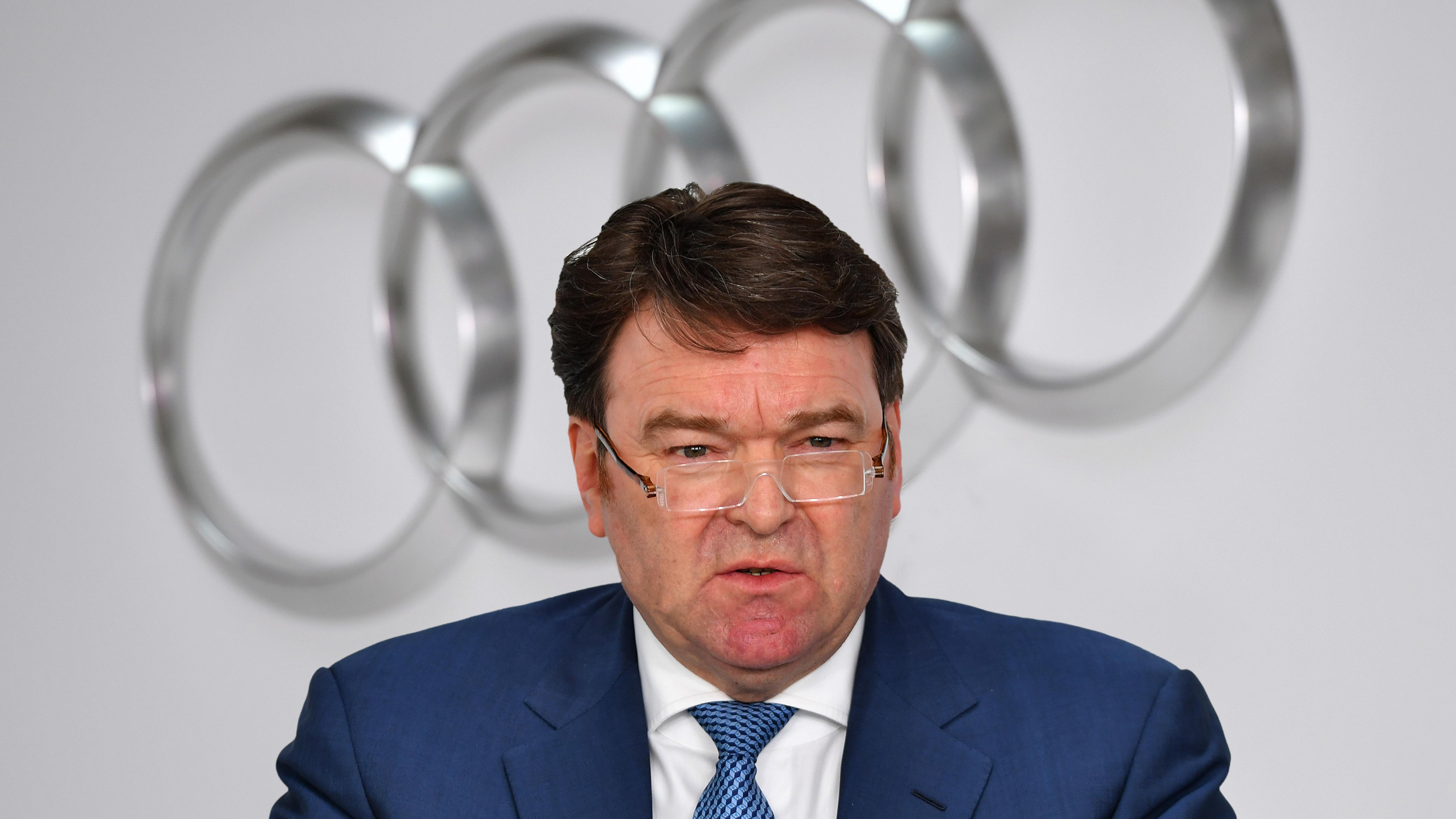 Der kommissarische Audi-Chef Bram Schot