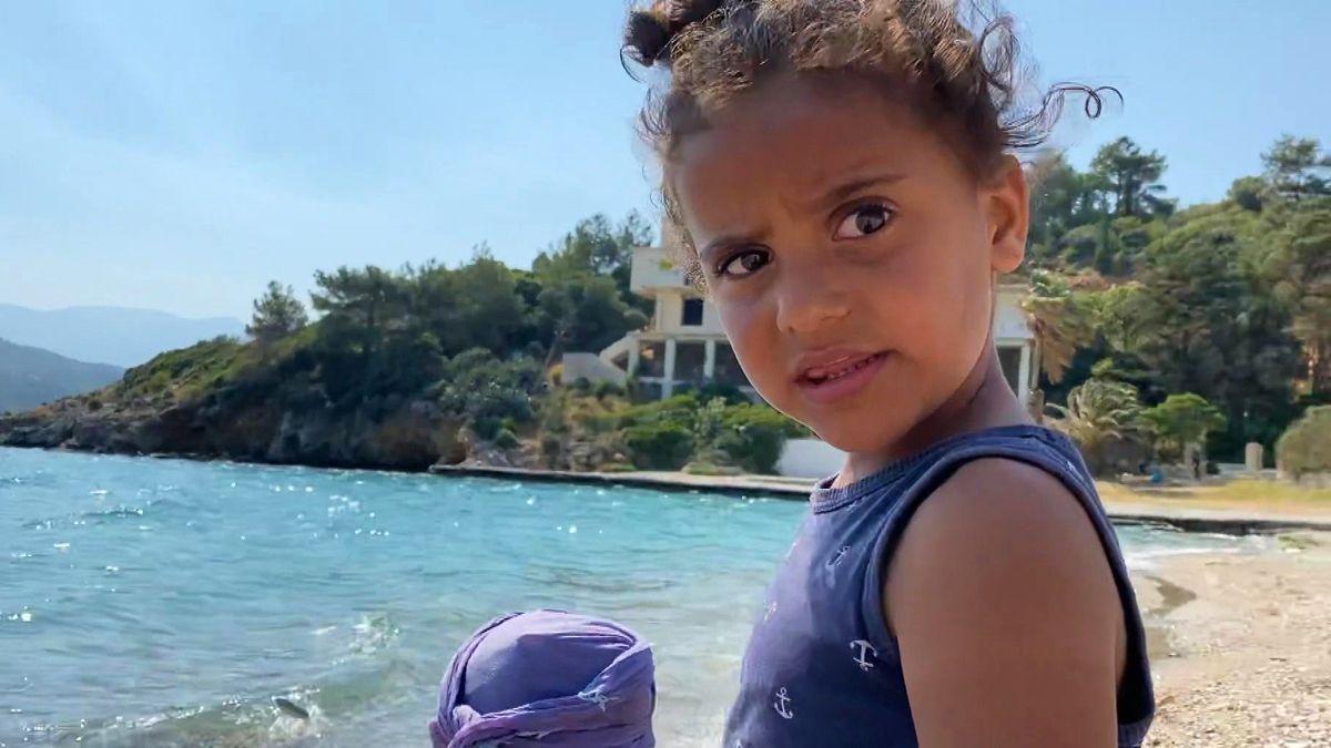 Flüchtlingskind auf Samos