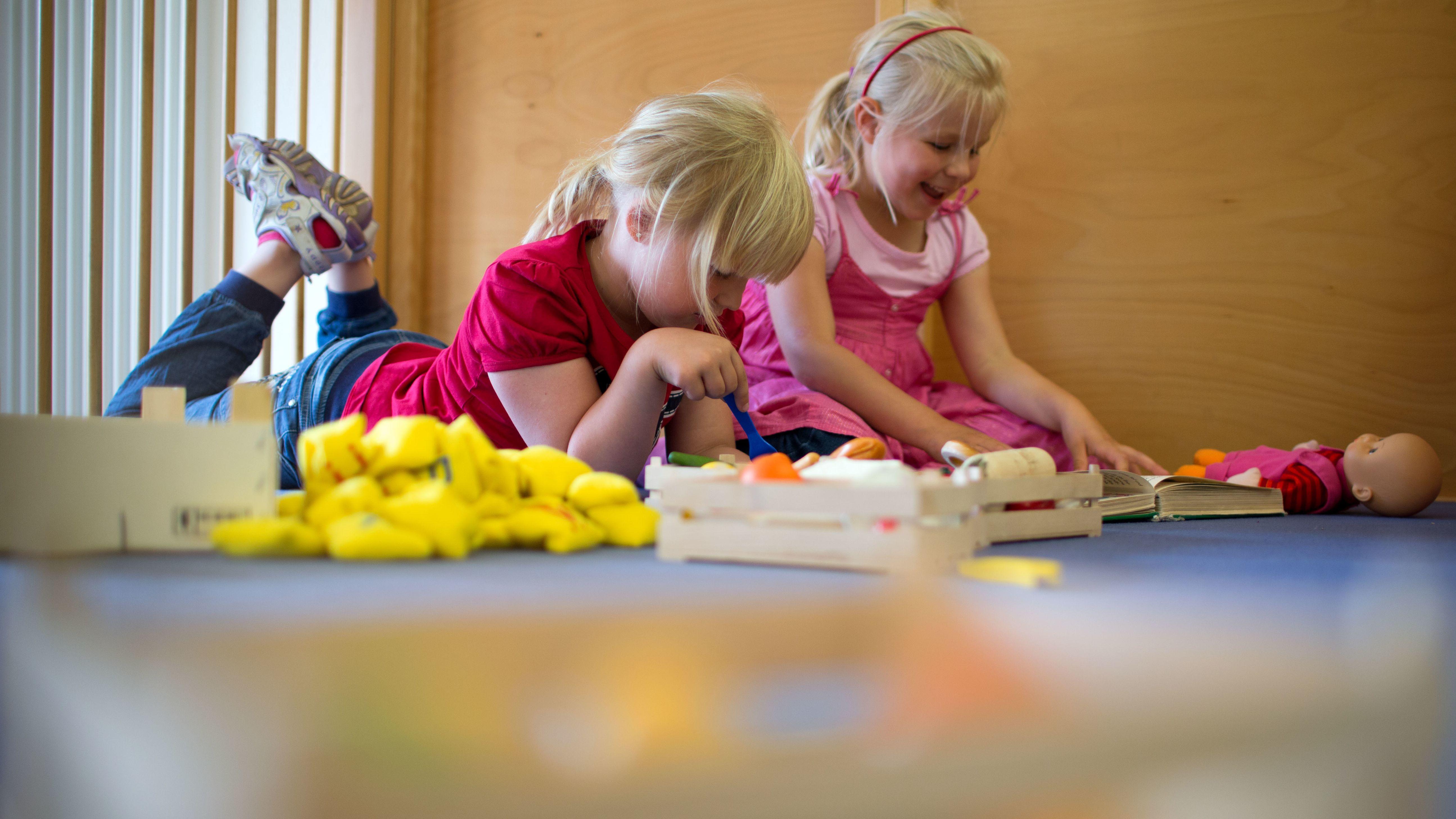 Symbolbild: Kinder in einer Kita
