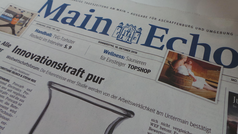 Zeitung: Main Echo