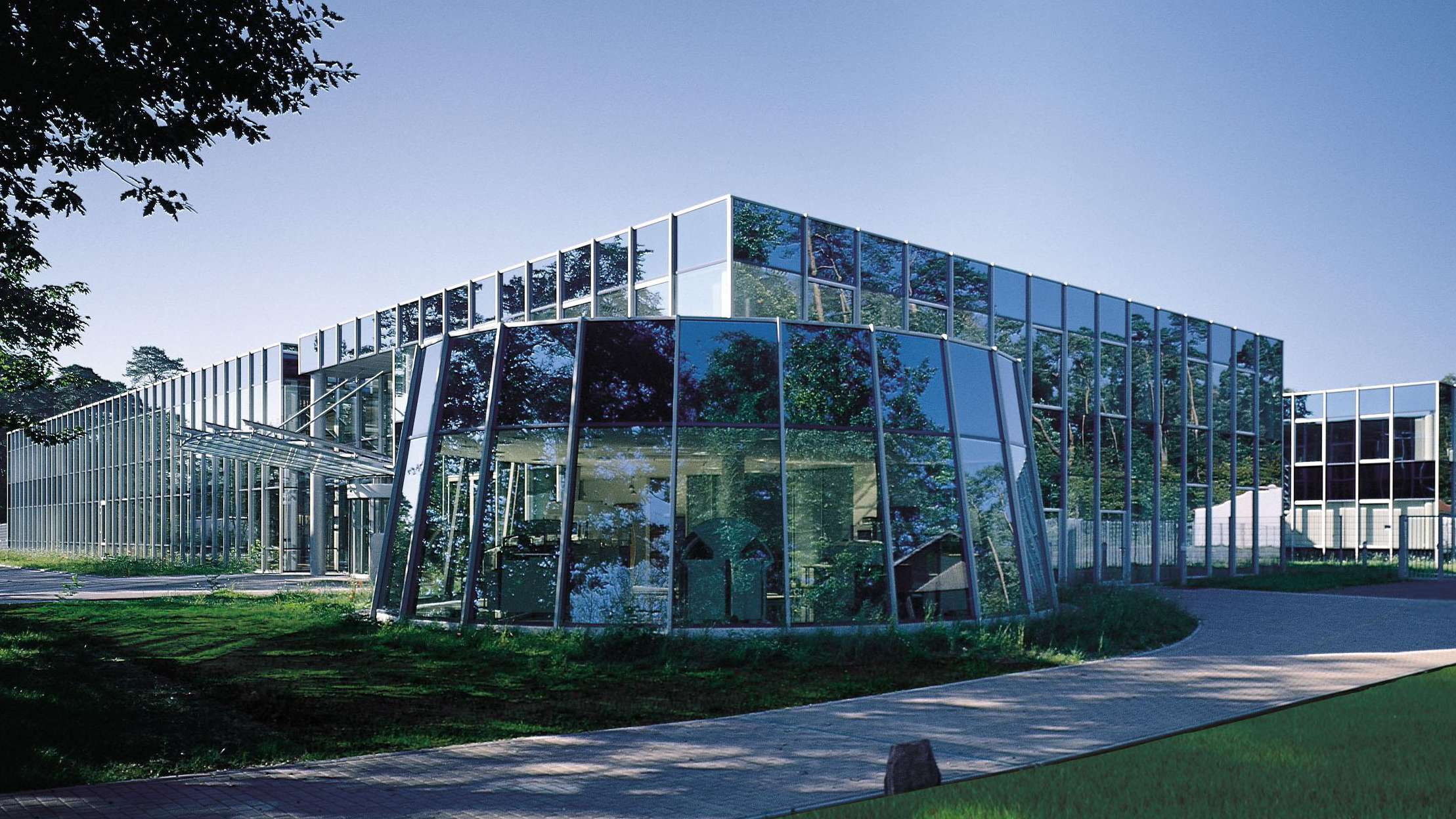 Der Firmensitz der Singulus Technologies AG in Kahl am Main