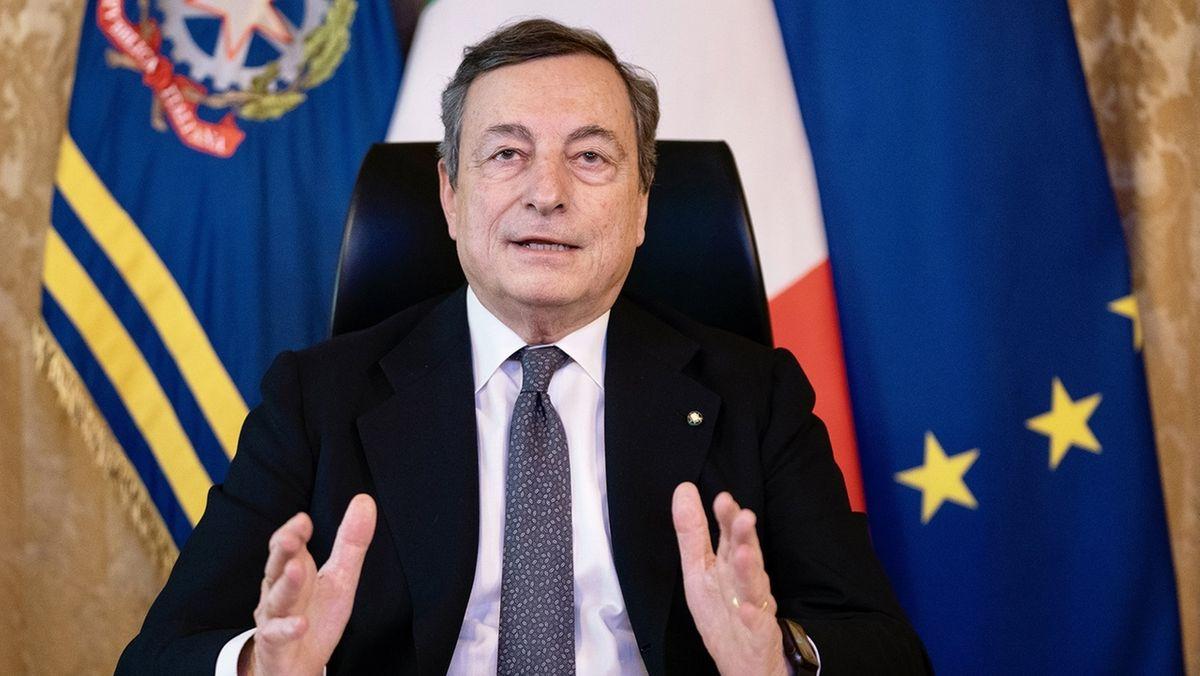 Mario Draghi, italienischer Ministerpräsident