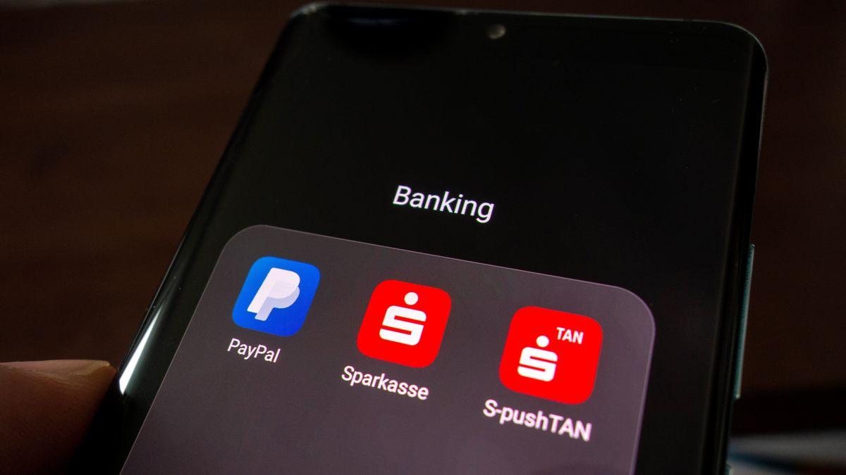BankingAPP auf Smartphone