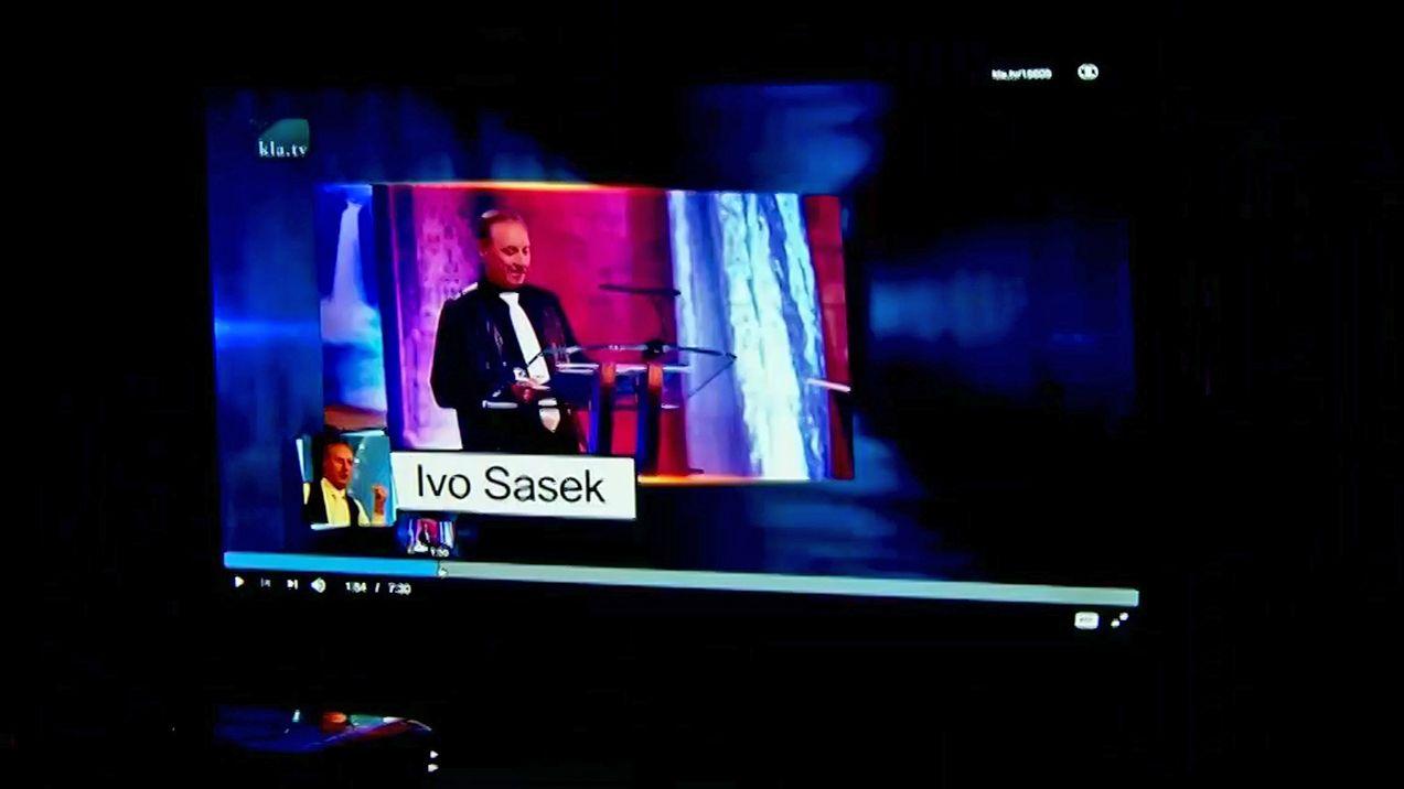 Ivo Sasek in einem Video bei Klagemauer TV