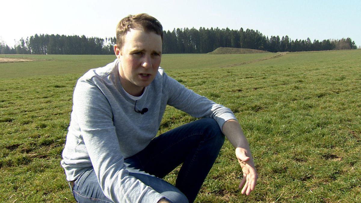 Bio-Bauer Peter Oberhofer aus Bruckberg