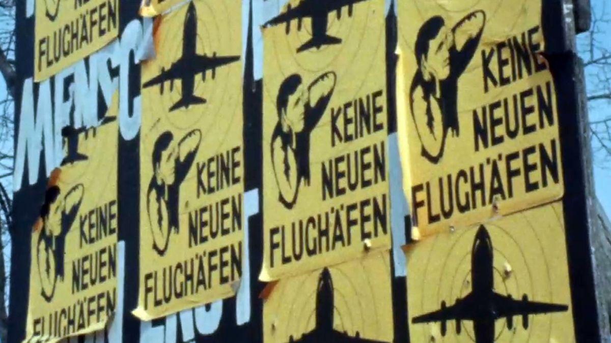 Freising, August 1979: Anwohner aus Franzheim und Schwaigermoos protestieren im Herzen Münchens gegen den neuen Flughafen