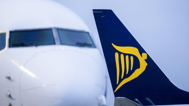 Flugzeug der Fluglinie Ryanair