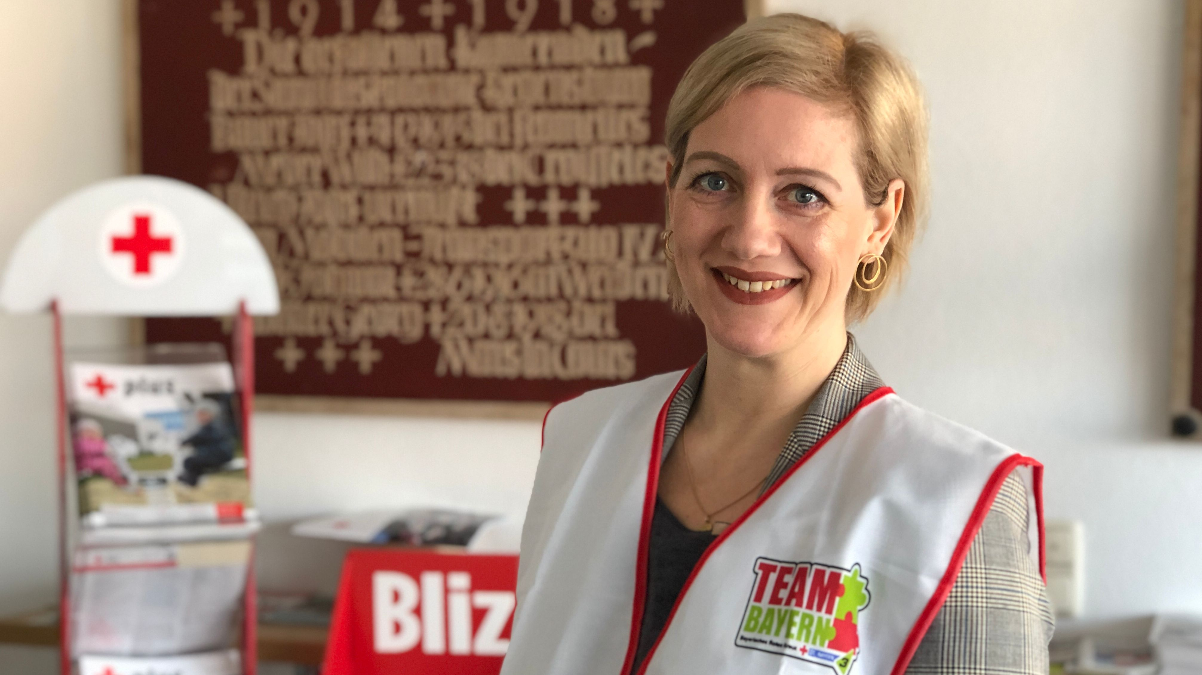 """Katja Gisl hat sich freiwillig als Einkauf-Helferin beim """"Team Bayern"""" gemeldet."""