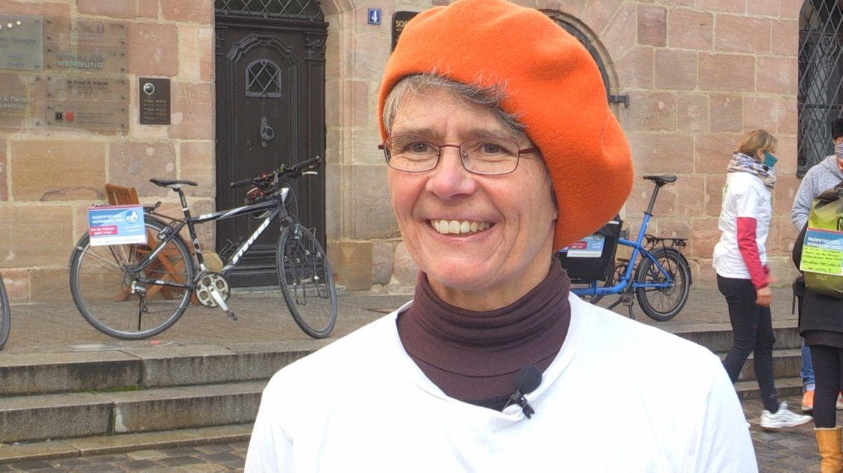 """Radlbotschafterin"" Nicola A. Mögel"