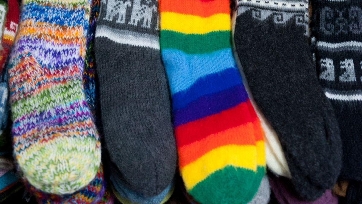Socken (Symbolbild).