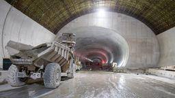 Baustelle des Brennerbasistunnel   Bild:picture-alliance/EXPA