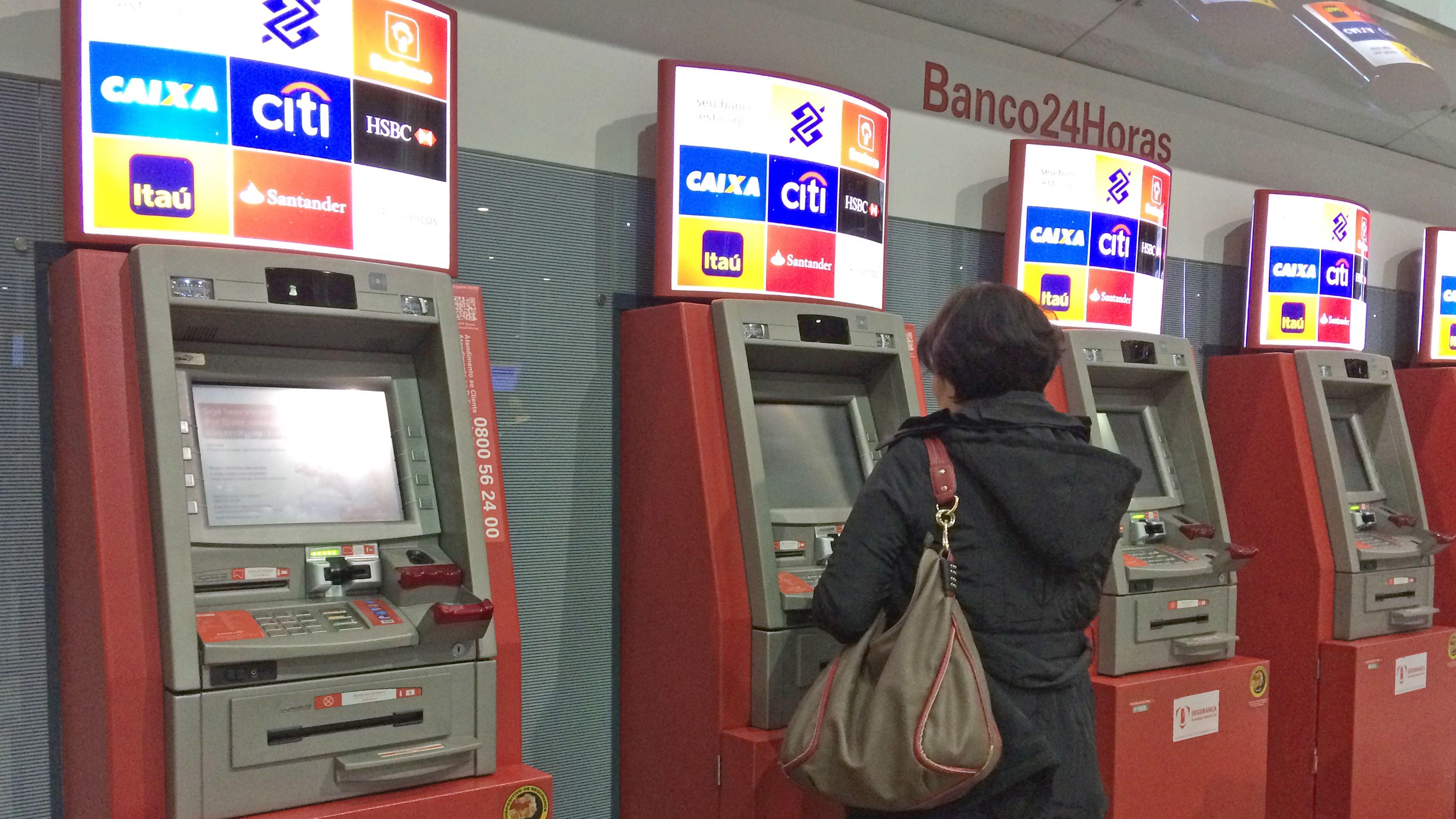 Geldautomaten in Brasilien