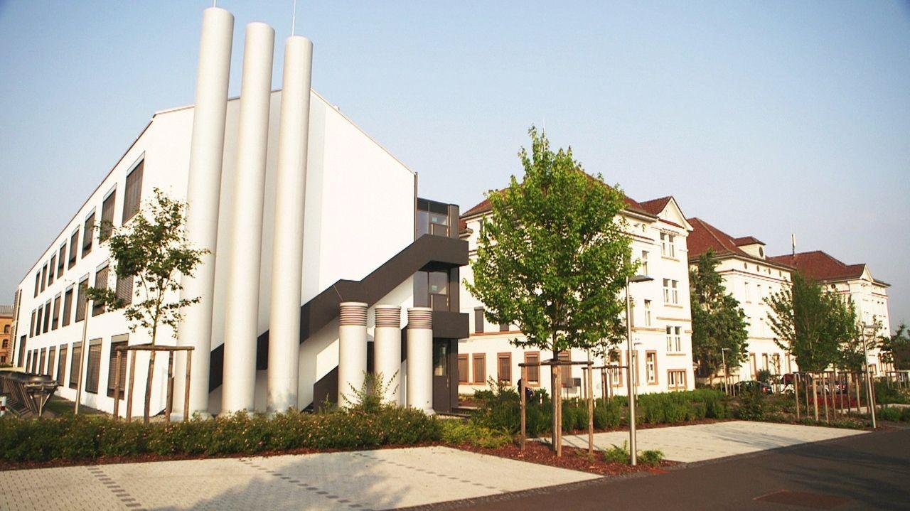 Gebäude der Hochschule Aschaffenburg