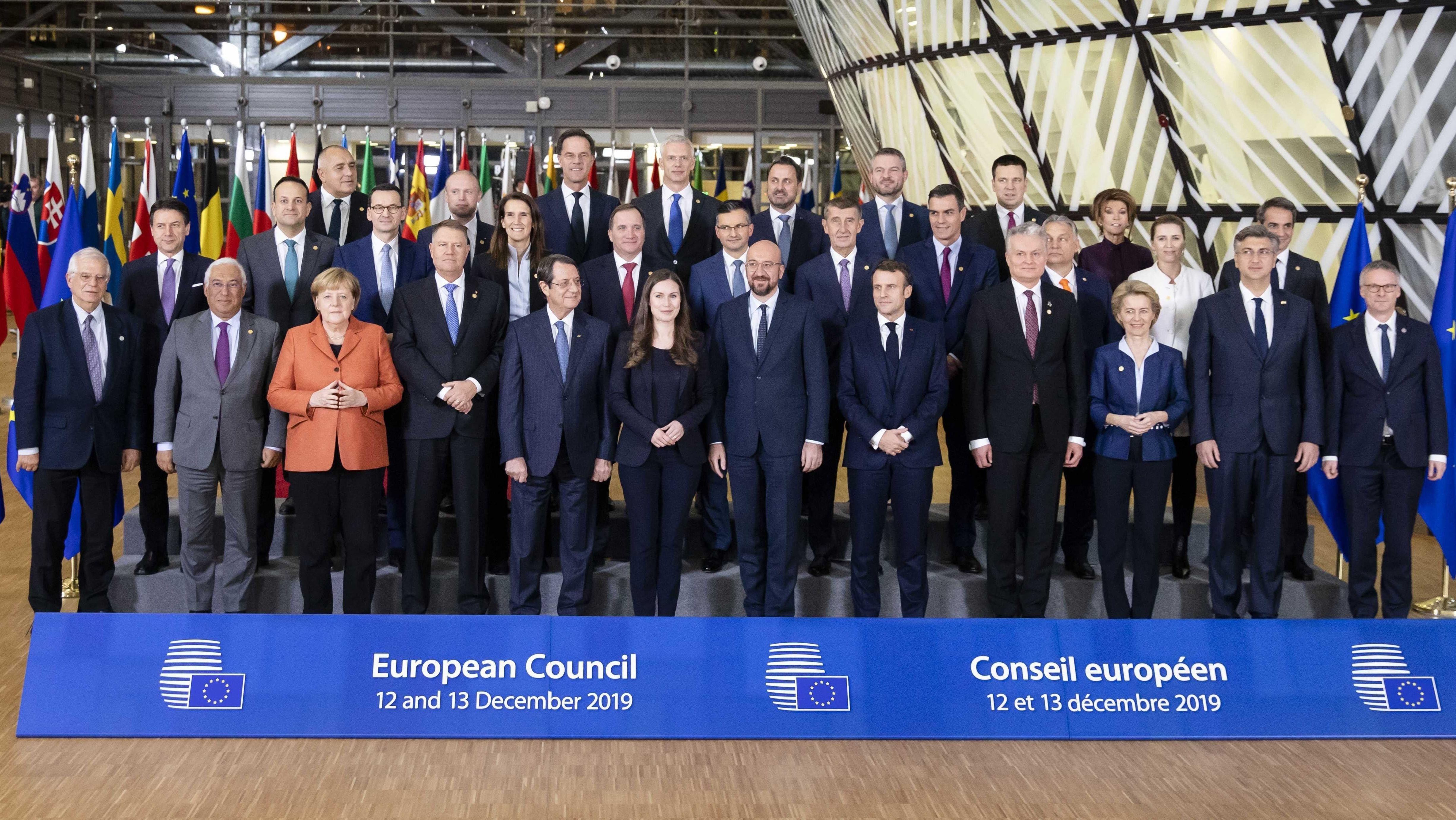 Teilnehmer des EU-Gipfels