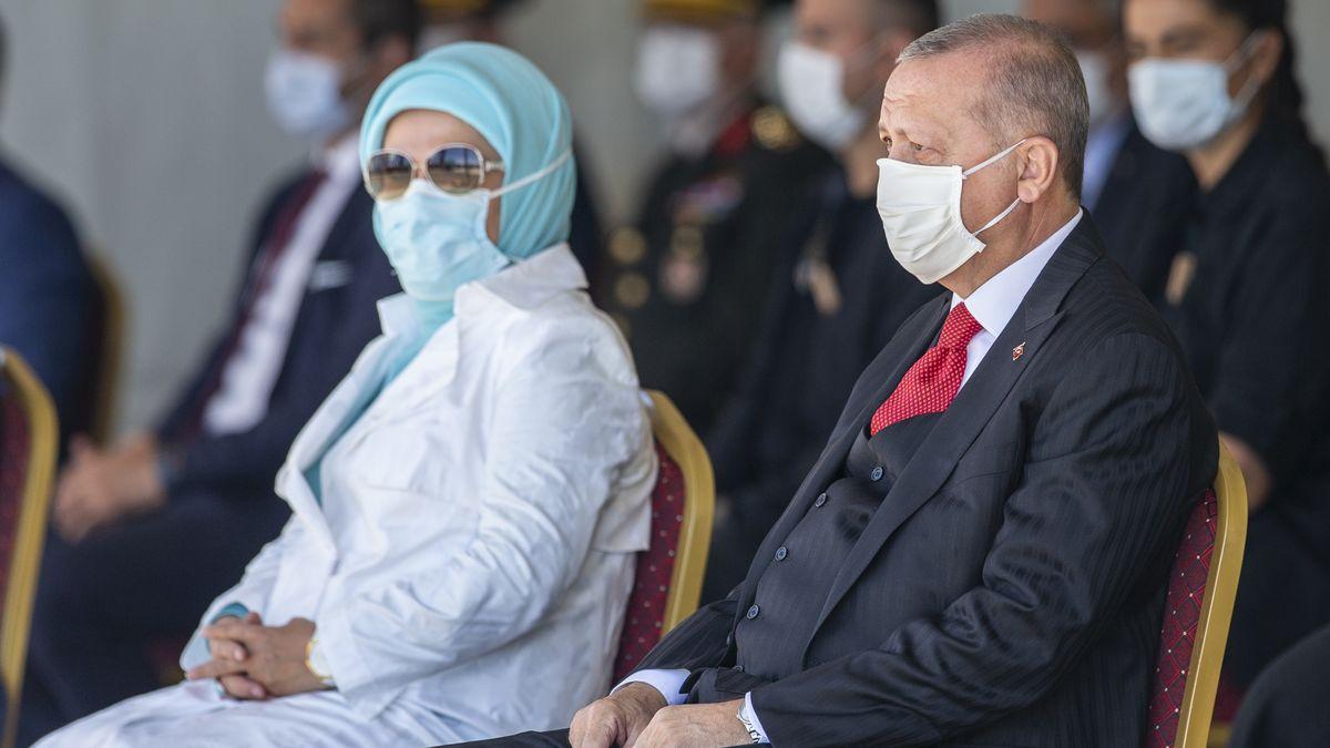 Recep und Emine Erdogan.