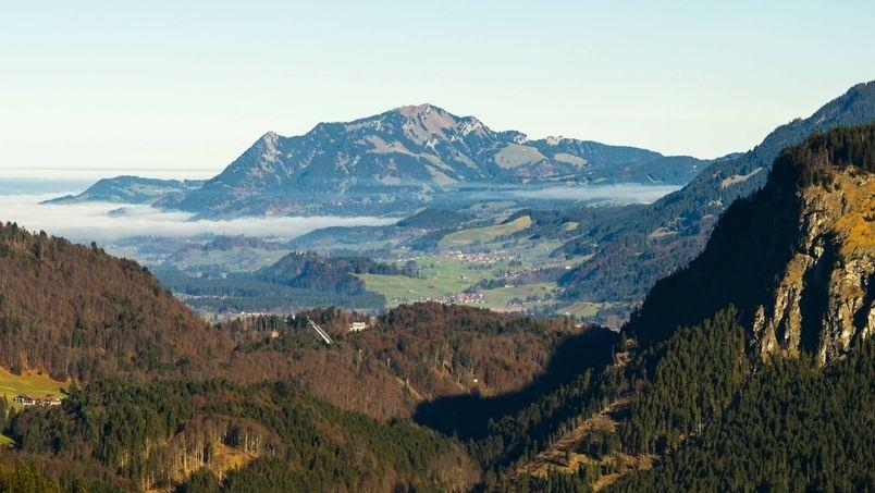 Allgäuer Alpen mit Grünten