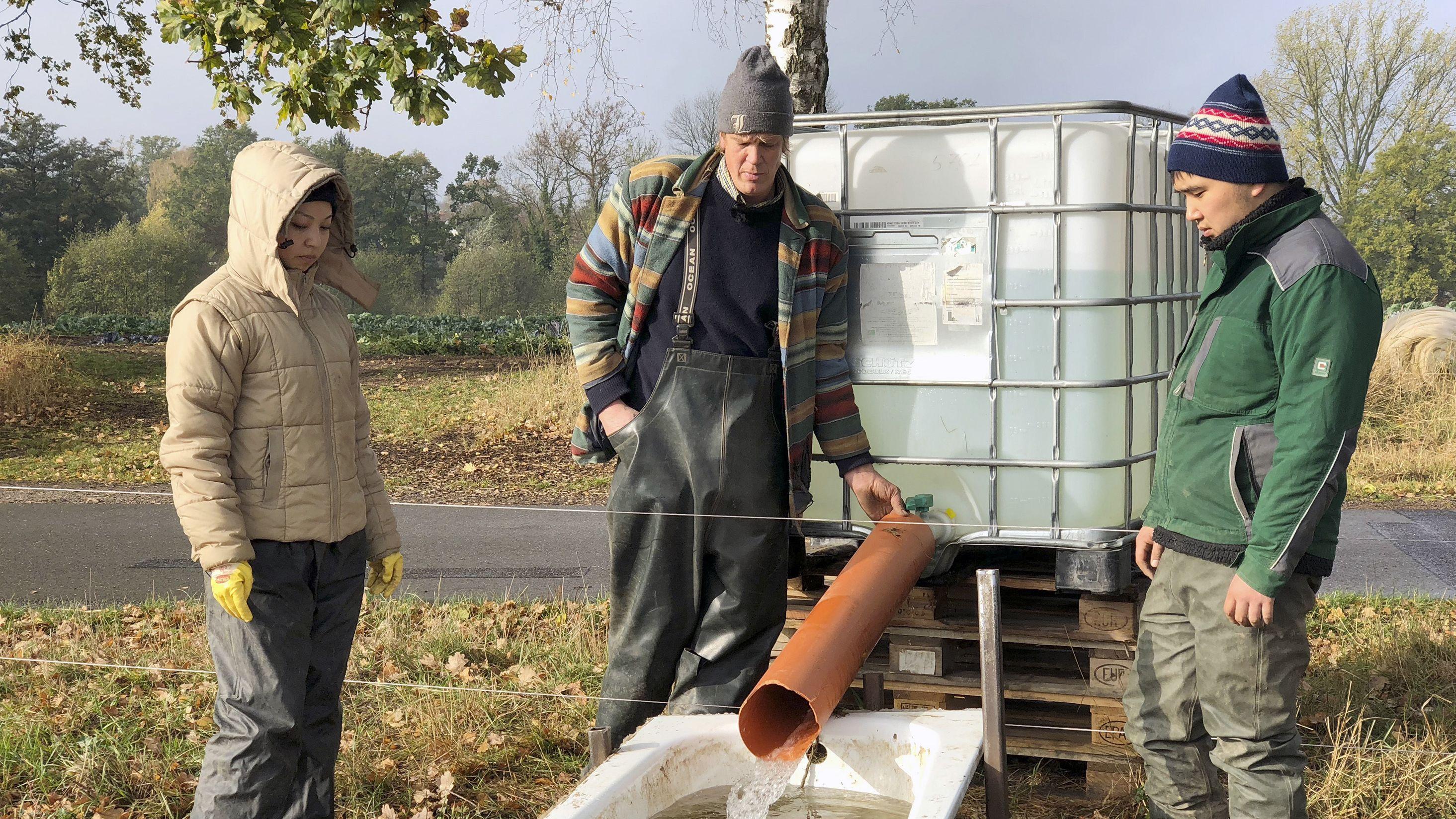 Agrarstudenten aus Osteuropa