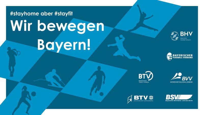 """Plakat der Aktion """"Wir bewegen Bayern"""""""