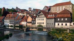 Ansicht der Stadt Kronach. | Bild:BR