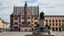 Marktplatz in Schweinfurt | Bild:BR