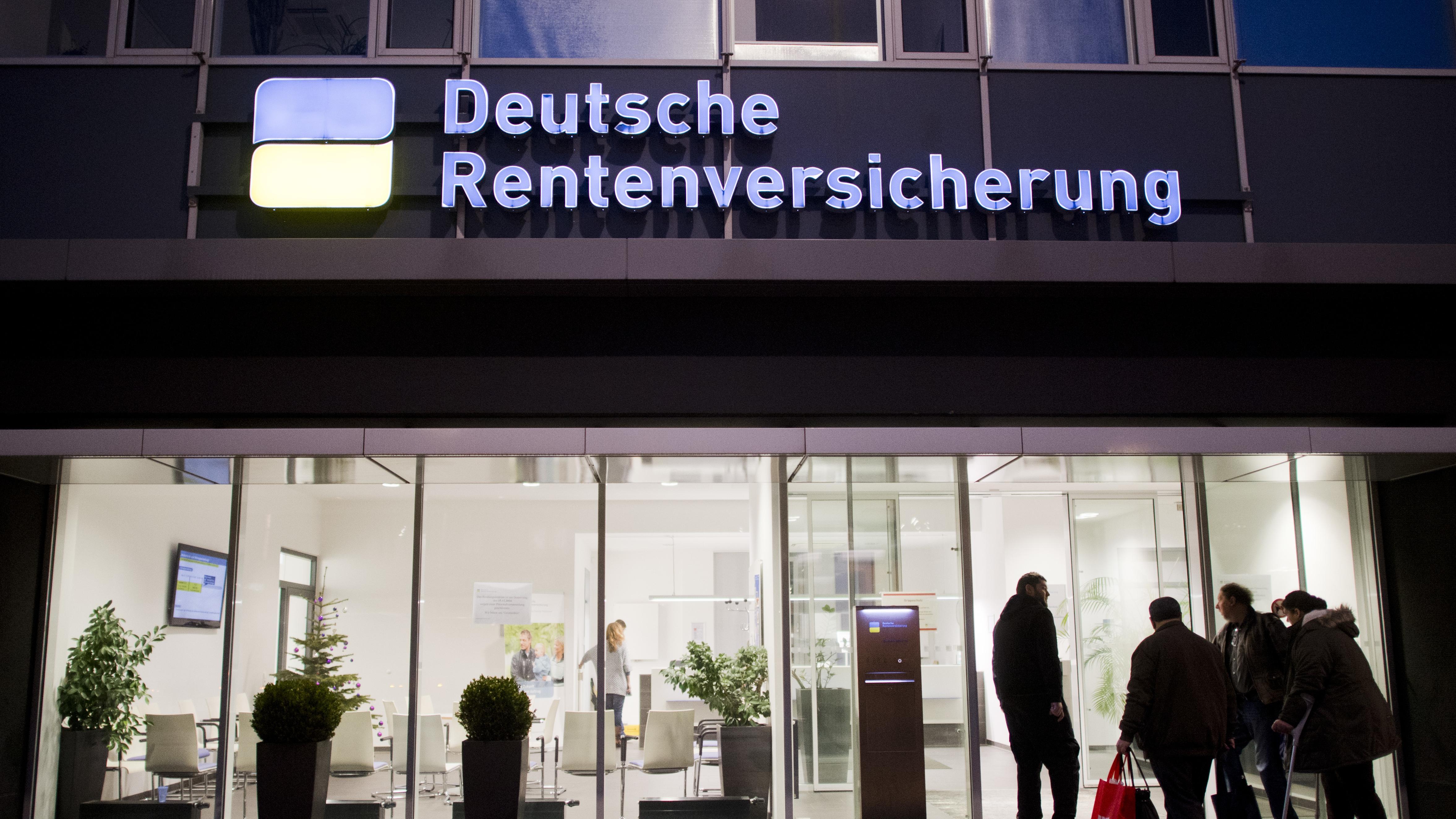 Verwaltungsgebäude der Deutschen Rentenversicherung in Hannover (Archivbild)