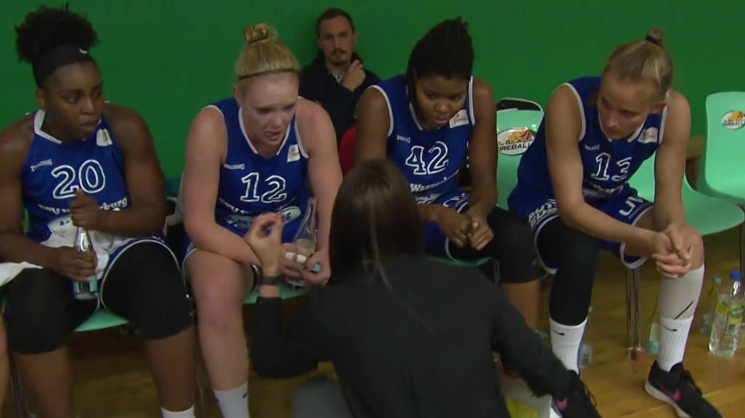 Basketballerinnen des TSV Wasserburg