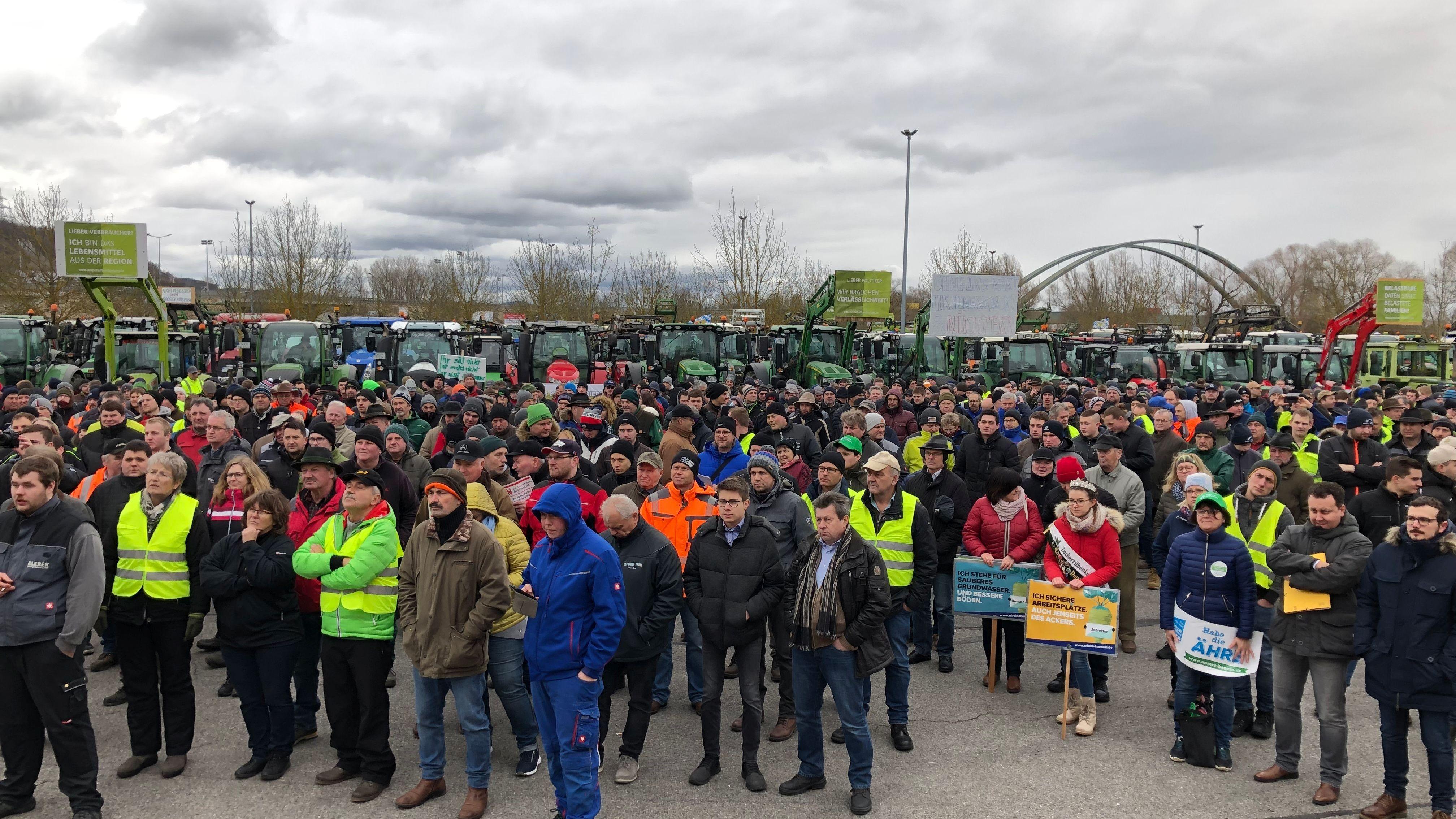 Bauernprotest in Regensburg