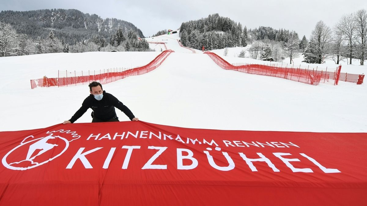 Vor dem Ski-Weltcup in Kitzbühel