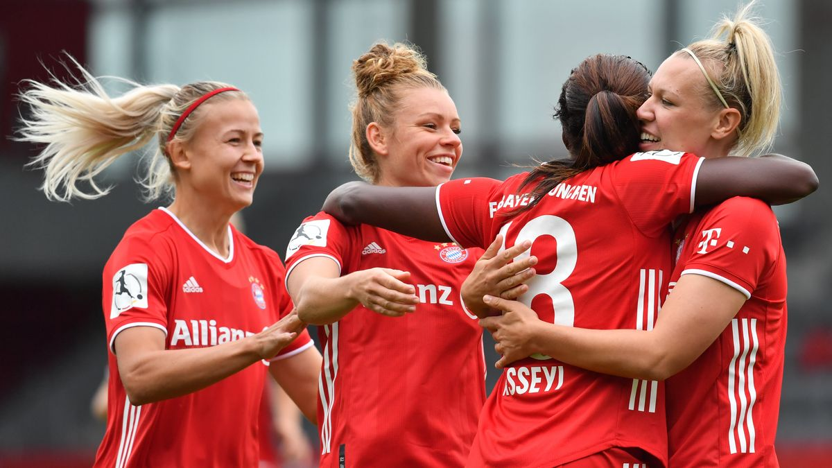 Jubel bei den Bayern-Frauen