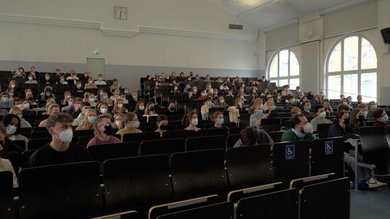 Das Wintersemester startet heute für die 260.000 Studenten in Bayern   Bild:BR