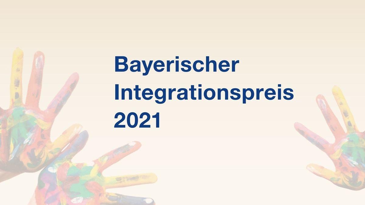 Logo Bayerischer Integrationspreis 2021