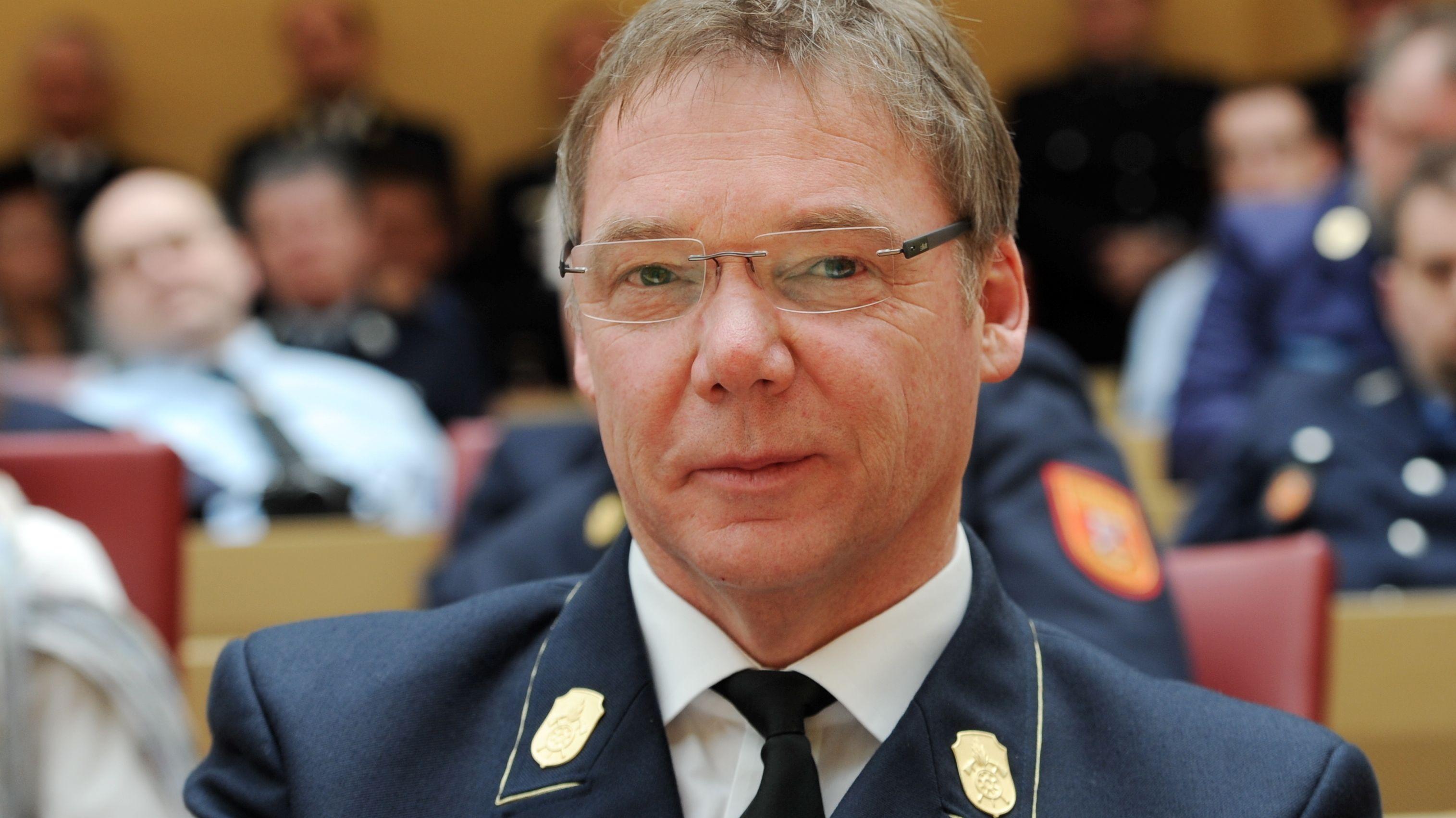 Alfons Weinzierl, Vorsitzender des Landesfeuerwehrverbandes Bayern
