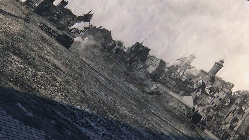 Nürnberg zerbombt