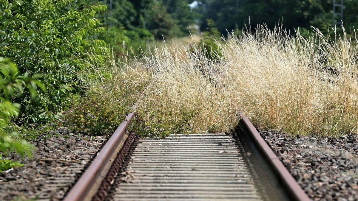 Stillgelegte Bahnlinie (Symbolbild)